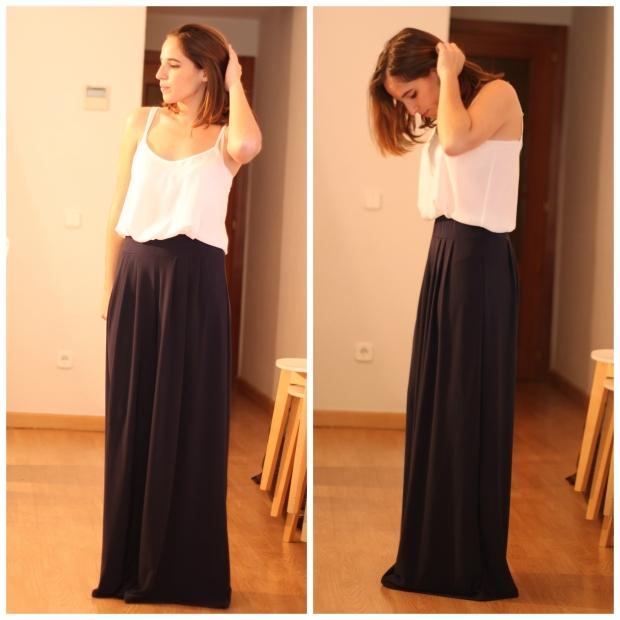 La Reina del Low Cost Lourdes Moreno Pilar Pascual del Riquelme pantalones palazzo look comuniones 2015 look graduacion look boda pantalon estilo para chicas tallas grandes (3)