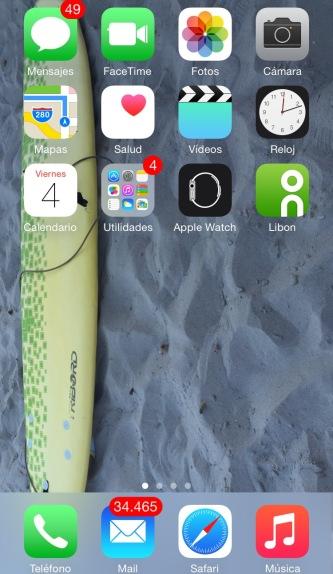 Yo la tengo en la pantalla de inicio de mi teléfono personal :-)