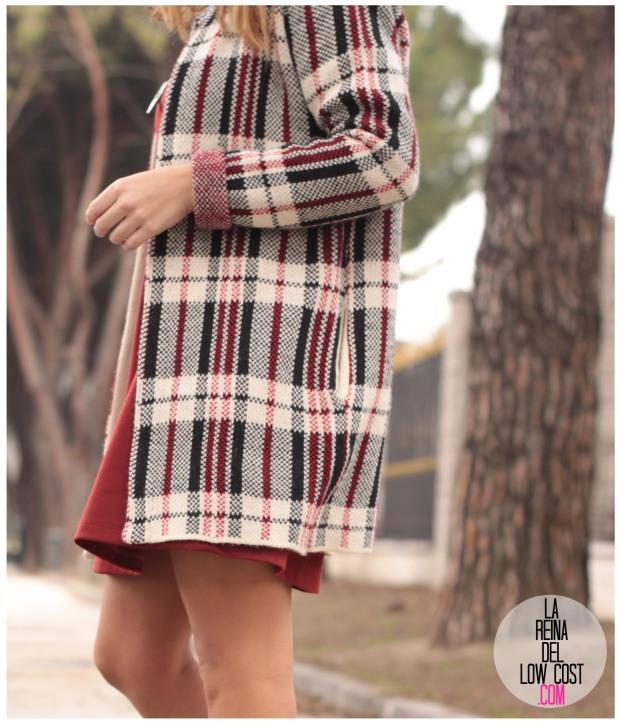 la reina del low cost pilar pascual del riquelme vestido basico teja primavera invierno 2016 manga larga elvestidordelamoda.com collar etnico nephra tienda online complementos envios g (6)