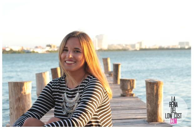 la reina del low cost total look vestido rayas marinero lourdes moreno comprar ropa online primavera 2016 mexico collar etnico nephra blogger españa madrid (6)
