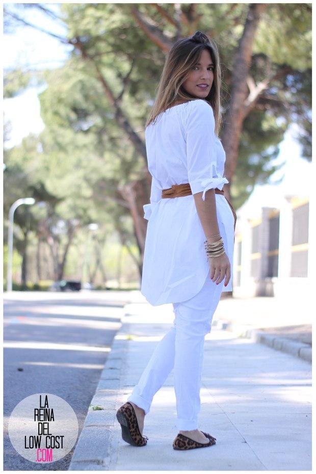 la reina del low cost pilar pascual del riquelme camisa manga lazos embarazada look oficina primavera verano 2016 lourdes moreno tienda online ropa barata pantalones blancos rotos prima (2)