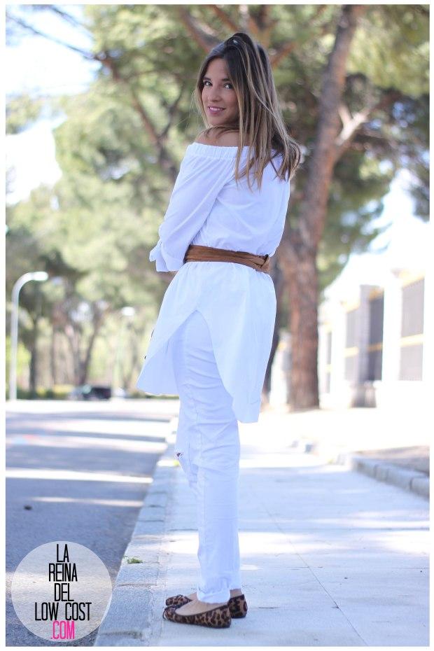la reina del low cost pilar pascual del riquelme camisa manga lazos embarazada look oficina primavera verano 2016 lourdes moreno tienda online ropa barata pantalones blancos rotos prima (18)