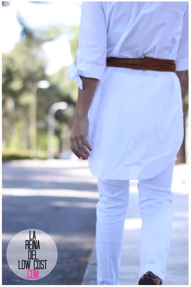 la reina del low cost pilar pascual del riquelme camisa manga lazos embarazada look oficina primavera verano 2016 lourdes moreno tienda online ropa barata pantalones blancos rotos prima (4)