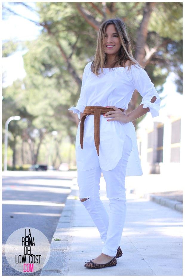 la reina del low cost pilar pascual del riquelme camisa manga lazos embarazada look oficina primavera verano 2016 lourdes moreno tienda online ropa barata pantalones blancos rotos prima (7)