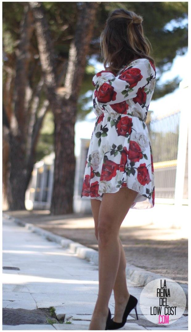 la reina del low cost pilar pascual del riquelme mono flores rosas chollomoda tienda online ropa barata look comuniones 2016 graduaciones becas look cena primavera verano (10)