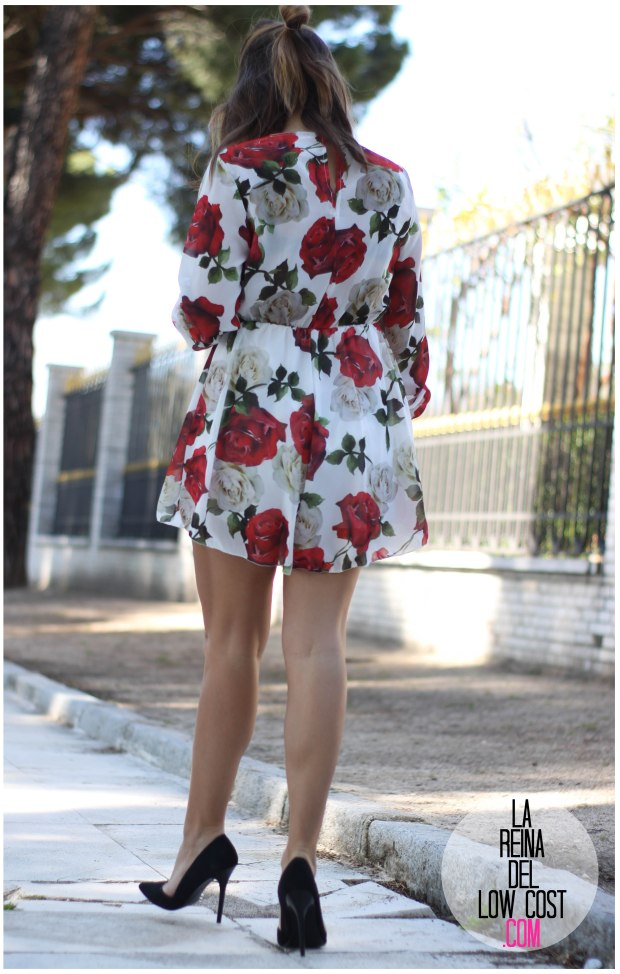 la reina del low cost pilar pascual del riquelme mono flores rosas chollomoda tienda online ropa barata look comuniones 2016 graduaciones becas look cena primavera verano (5)
