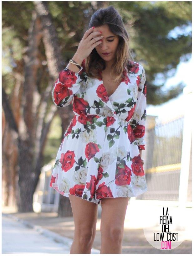 la reina del low cost pilar pascual del riquelme mono flores rosas chollomoda tienda online ropa barata look comuniones 2016 graduaciones becas look cena primavera verano (7)