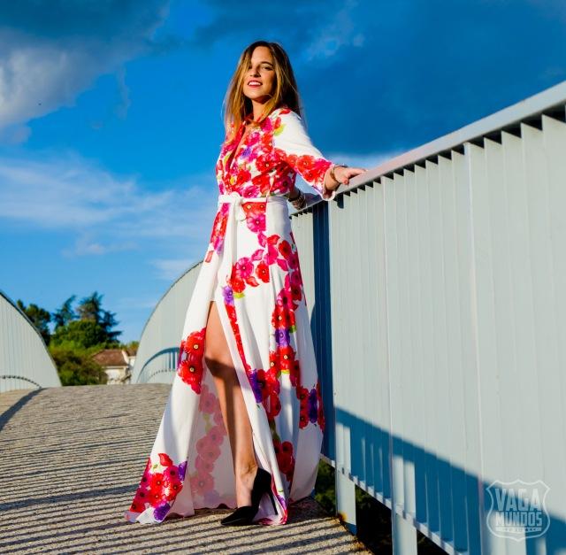 e100f70b1 Temporada de bodas  vestido largo de flores inspiración Paula Echevarría  versión low cost  -) – La Reina del Low Cost