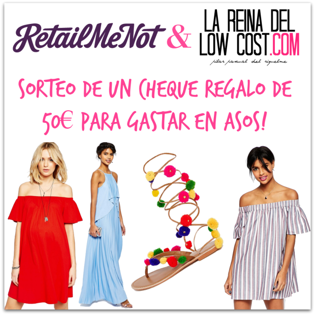 sorteo RetailMeNot España La Reina del Low Cost madrid