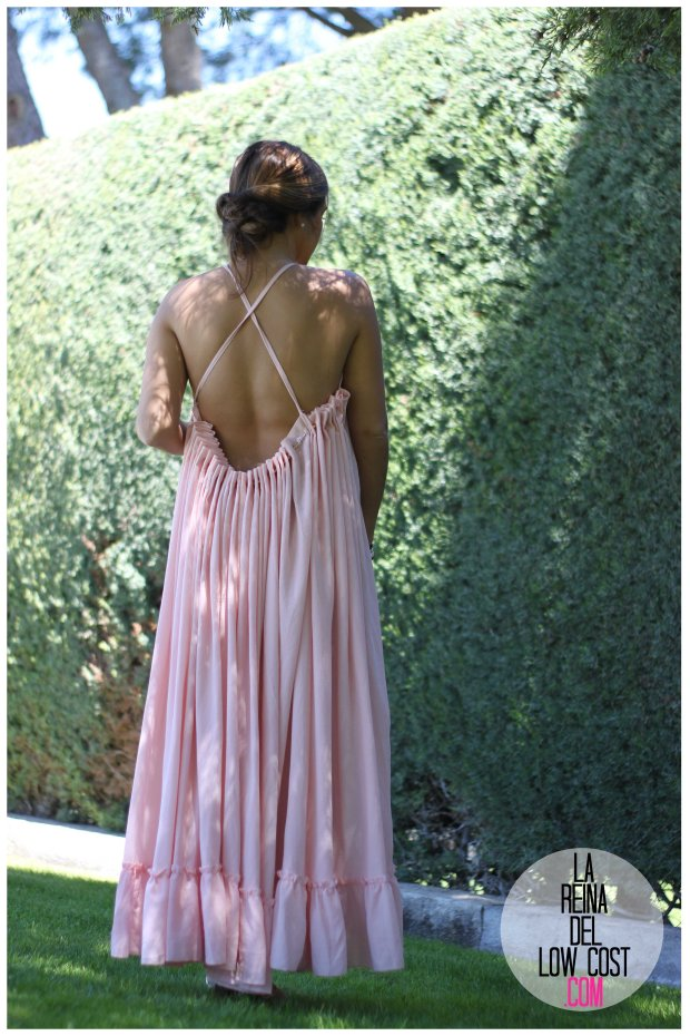la reina del low cost vestido gasa espalda aire descubierta stella mccartney low cost lourdes moreno vestido barato boda boho chic hippie ibiza playa verano prima (10)