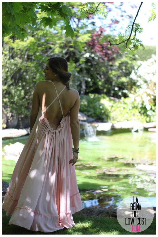 la reina del low cost vestido gasa espalda aire descubierta stella mccartney low cost lourdes moreno vestido barato boda boho chic hippie ibiza playa verano prima (12)