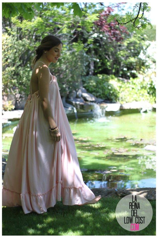 la reina del low cost vestido gasa espalda aire descubierta stella mccartney low cost lourdes moreno vestido barato boda boho chic hippie ibiza playa verano prima (13)