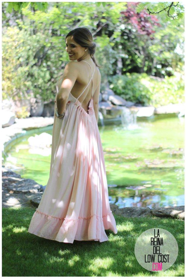 la reina del low cost vestido gasa espalda aire descubierta stella mccartney low cost lourdes moreno vestido barato boda boho chic hippie ibiza playa verano prima (14)