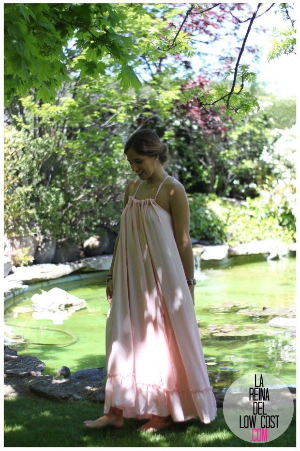 la reina del low cost vestido gasa espalda aire descubierta stella mccartney low cost lourdes moreno vestido barato boda boho chic hippie ibiza playa verano prima (15)