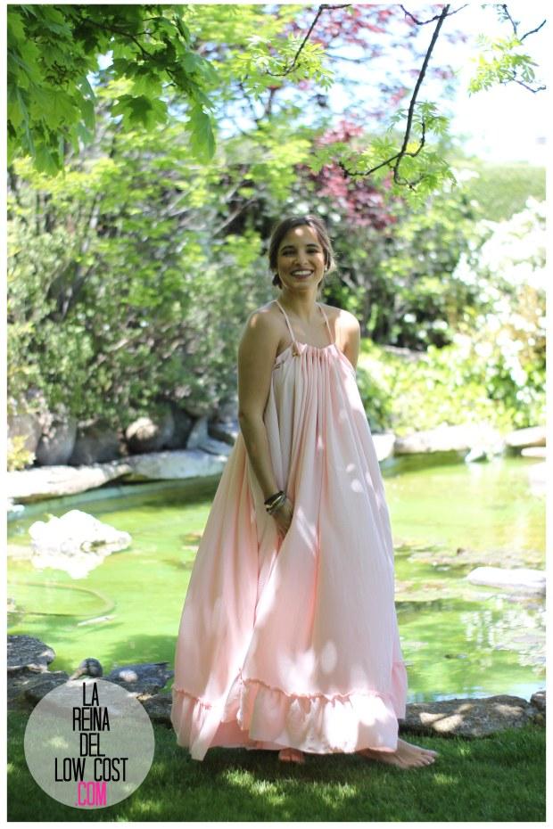 la reina del low cost vestido gasa espalda aire descubierta stella mccartney low cost lourdes moreno vestido barato boda boho chic hippie ibiza playa verano prima (16)