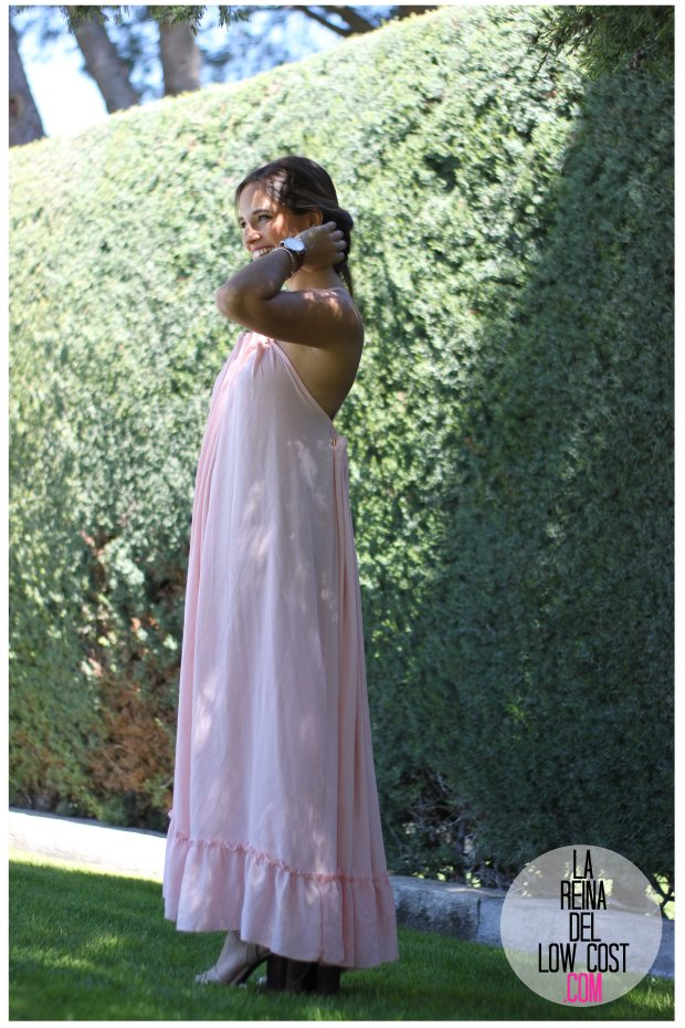 la reina del low cost vestido gasa espalda aire descubierta stella mccartney low cost lourdes moreno vestido barato boda boho chic hippie ibiza playa verano prima (8)