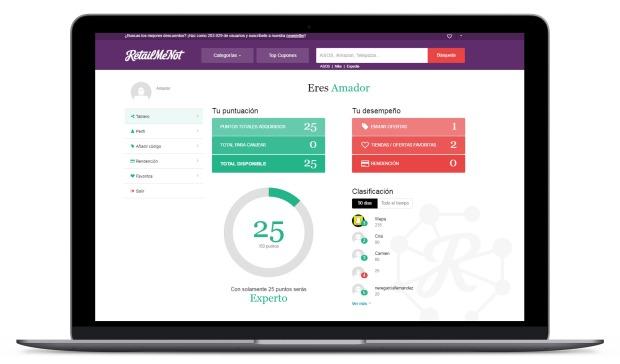 ES community profile RetailMeNot