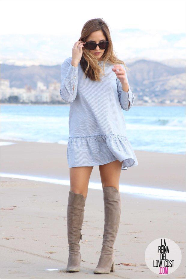 la reina del low cost blog blogger style outfit fashion blogger spanish blogger mexican blogger pilar pascual del riquelme shein tienda online ropa barata opiniones botas altas zara rebajas playa san juan alicante