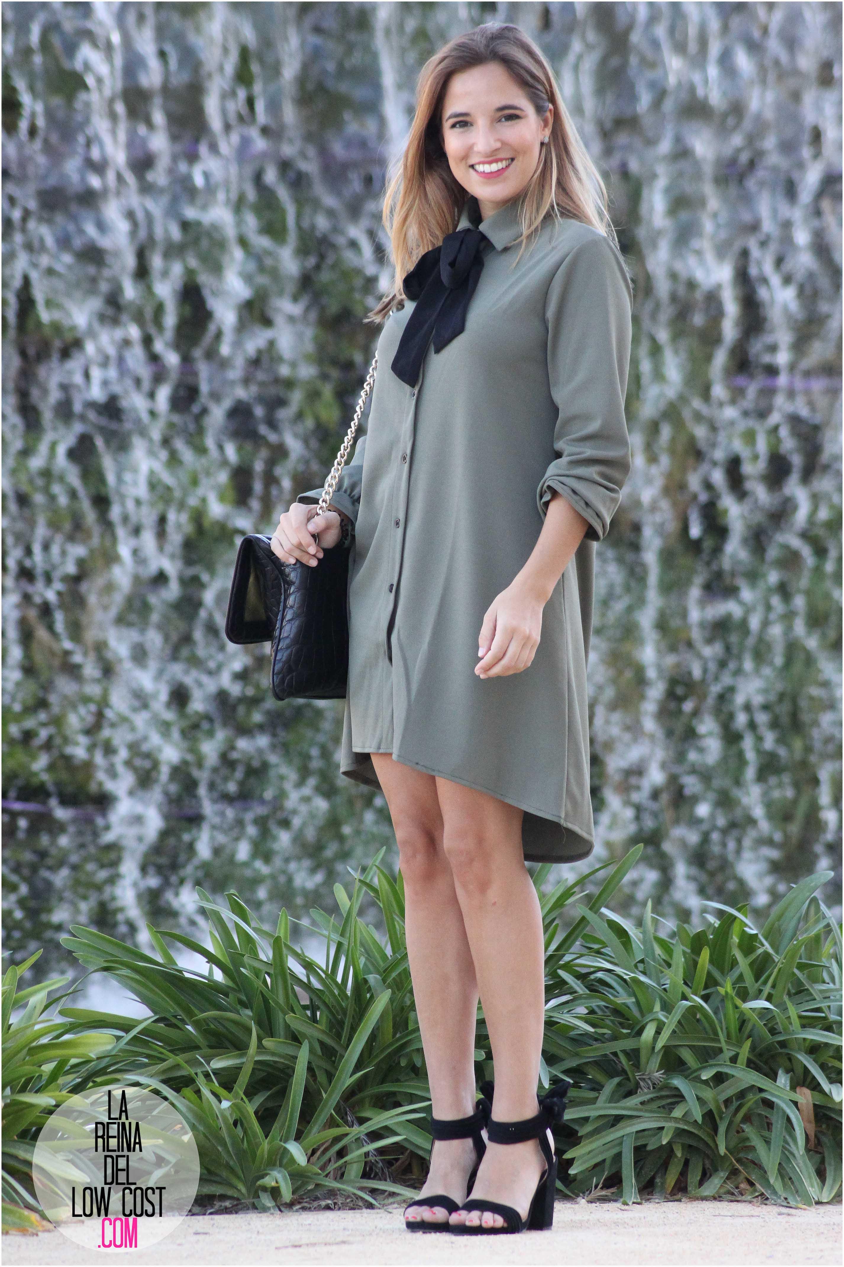 Color de sandalias para vestido verde